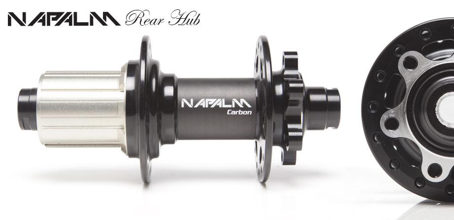 Napalm Carbon Rear Hub