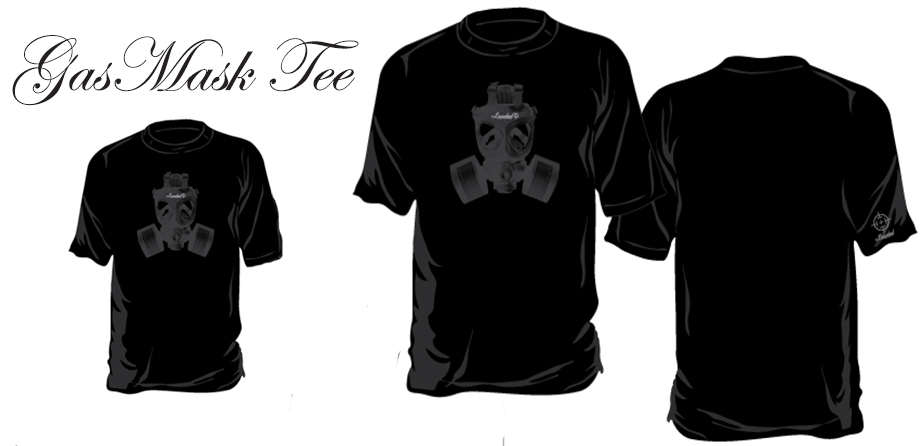 Gas Mask Tee (Mens)